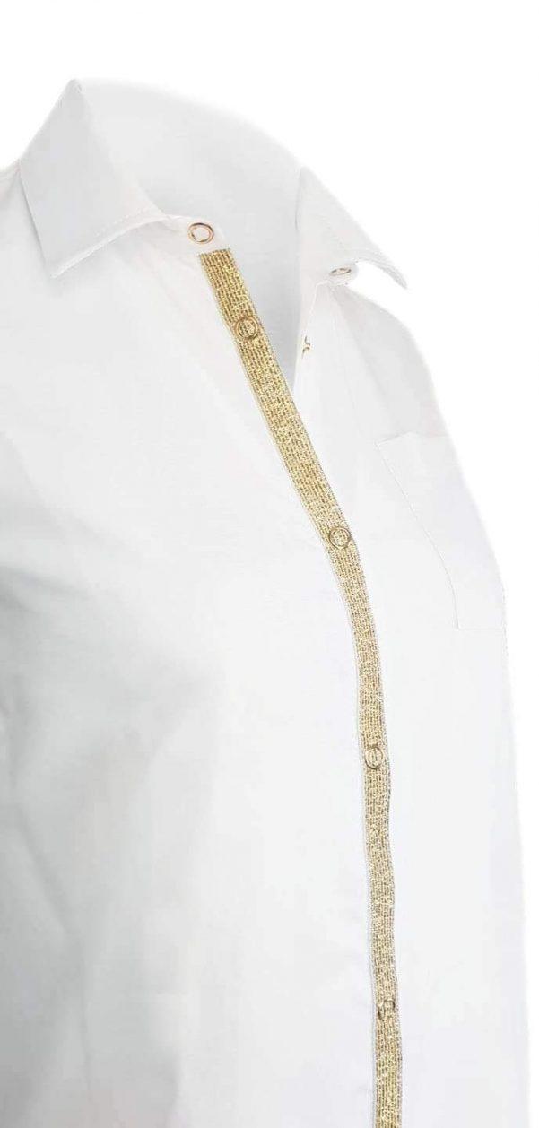 Koszula Gold Stripe Long